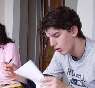 Dutch student learns Italian Language